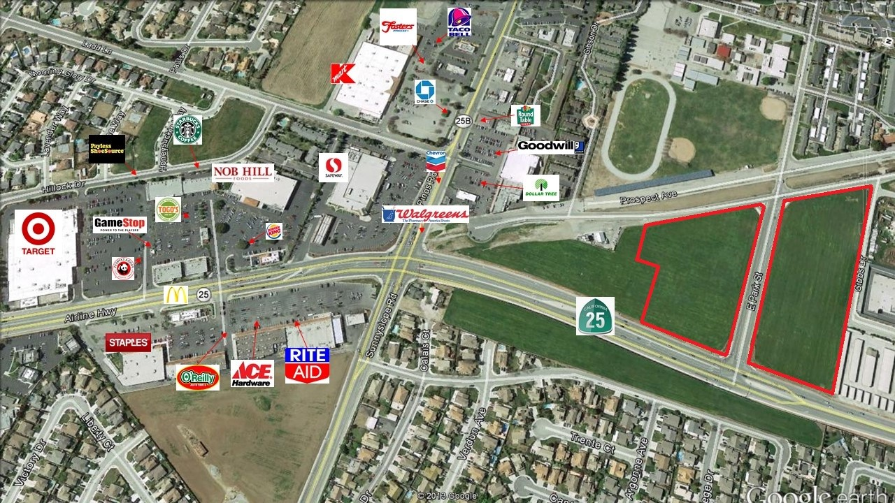 Commercial Land Property for Sale in California